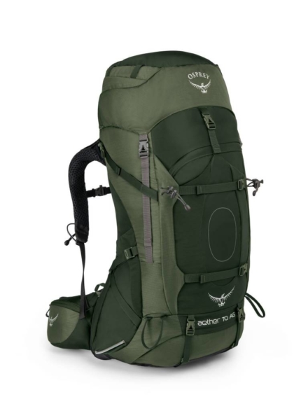 Osprey Aether AG 70l backpack heren Adirondack Green
