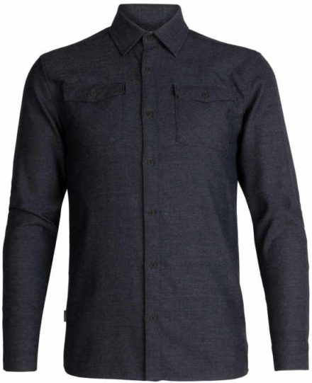 Icebreaker Icebreaker heren Lodge met lange mouwen Flannel Shirt (Overige kleuren)