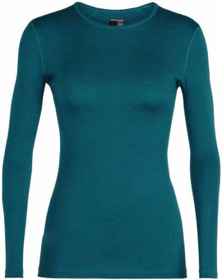 Icebreaker Icebreaker womens 200 Oasis met lange mouwen Crewe (Overige kleuren)