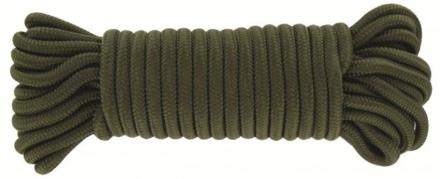 Highlander touw 9mm x 15m olive