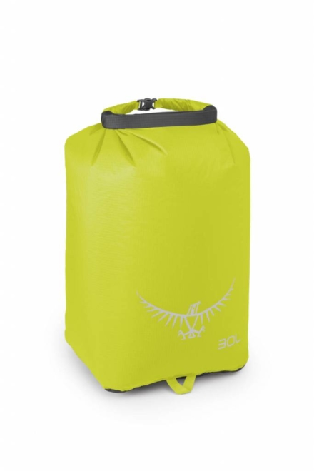 Osprey Ultralight DrySack 30 liter drybag Electric Lime waterdichte zak