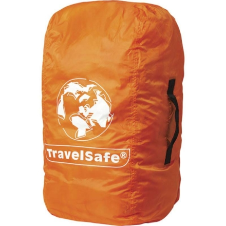 Travelsafe Combi cover M tot 55l- backpack flightbag & regenhoes oranje