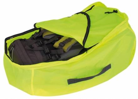 Travelsafe Combi cover L 55-100l backpack flightbag & regenhoes geel