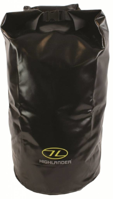 Highlander Drybag large 44L Zwart