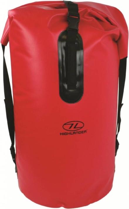 Highlander Monaco Drybag rugzak 70l rood