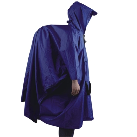 Ace Camp Poncho premium backpacker blauw