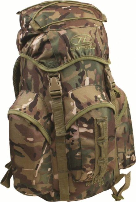 Pro-force Forces 25 rugzak 25 liter camouflage