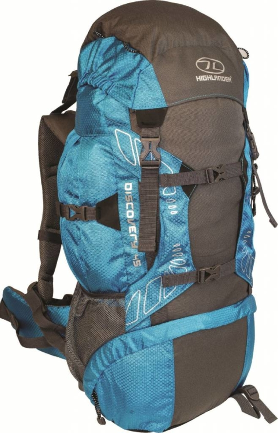 Highlander Discovery 45l backpack blauw