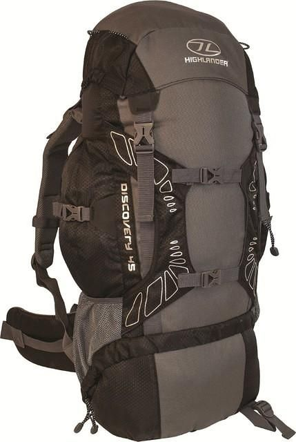 Highlander Discovery backpack 45l zwart