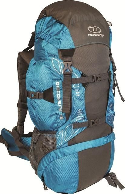 Highlander Discovery backpack 65l blauw