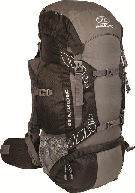 Highlander Discovery 65l backpack zwart