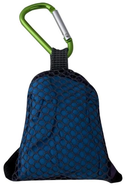 Travelsafe Clip Towel 40 x 40 cm Blauw