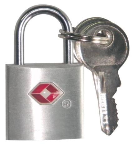 Travelsafe 2 TSA reisslotjes met sleutel set van 2 geschikt voor ritsen