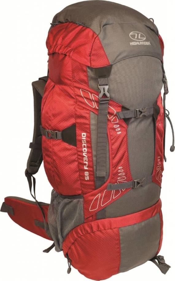 Highlander Discovery 85l backpack rood