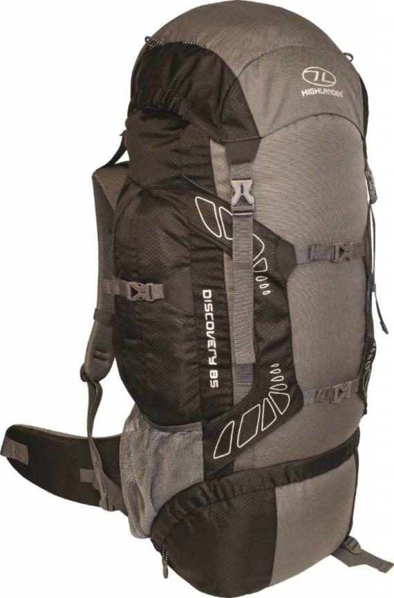 Highlander Discovery backpack 85l zwart