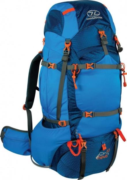 Highlander Ben Nevis 65l backpack blauw