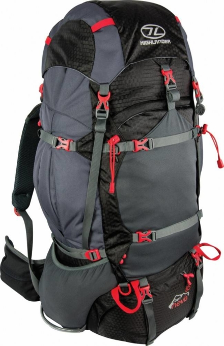 Highlander Ben Nevis backpack 85L zwart