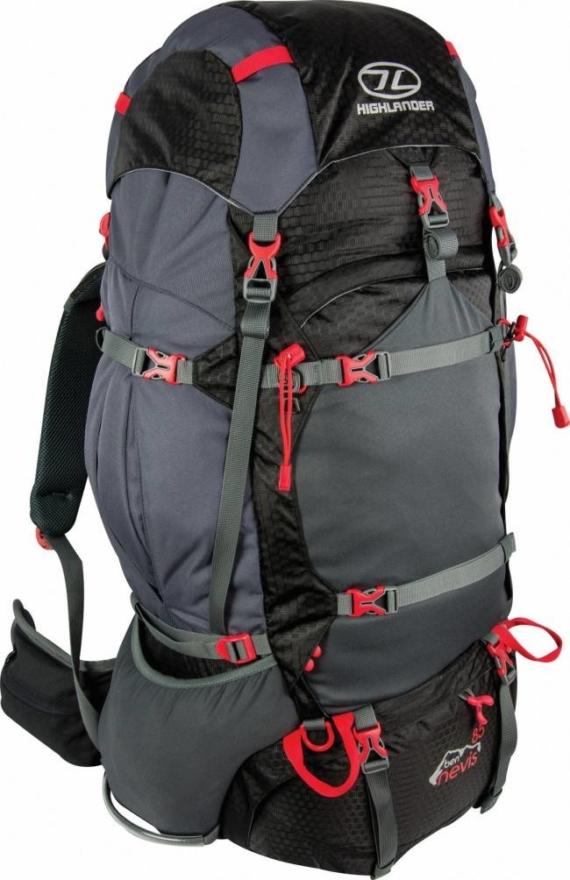 Highlander Ben Nevis backpack 85L zwart