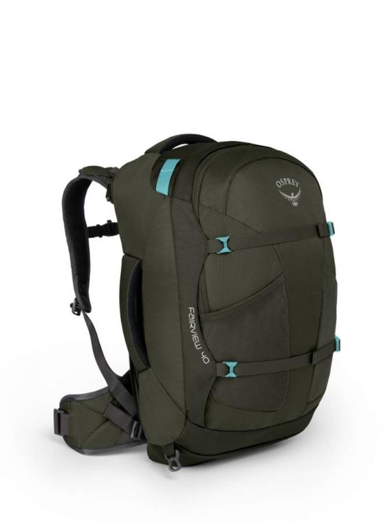 Osprey Fairview 40 WS/M dames travelpack handbage size Misty Grey