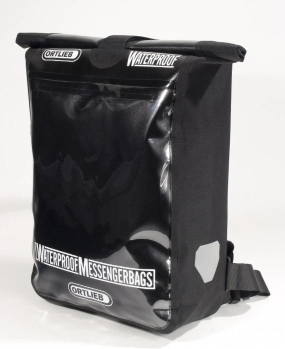 Ortlieb Messengerbag Pro koeriertas waterdicht 39 l -zwart