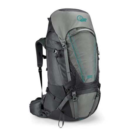 Lowe Alpine Diran ND 60:70l backpack dames Greystone Iron Grey