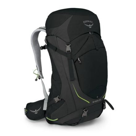 Osprey Stratos 50l backpack zwart
