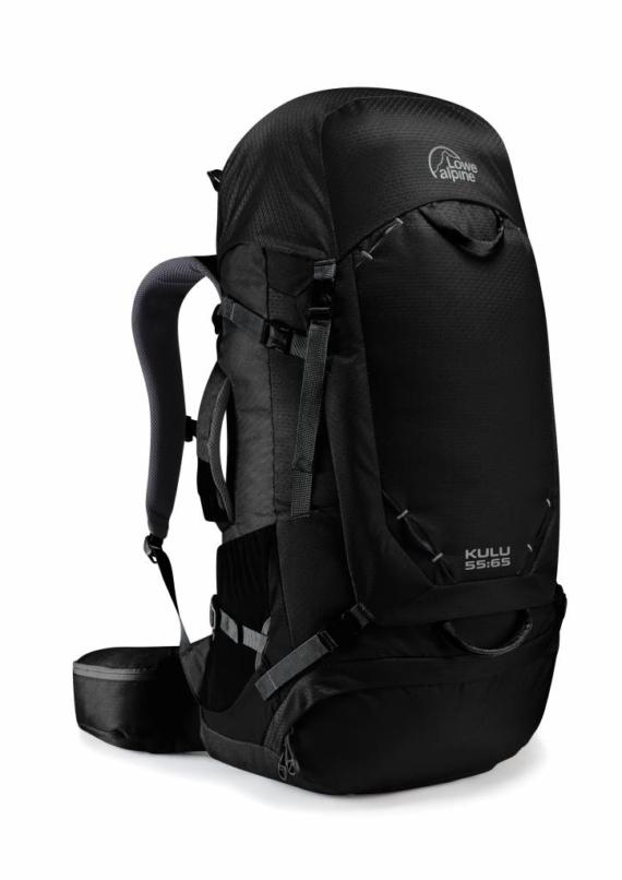 Lowe Alpine Kulu 55:65l backpack Anthracite