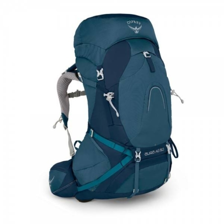 Osprey Aura AG 50l backpack dames Challenger Blue
