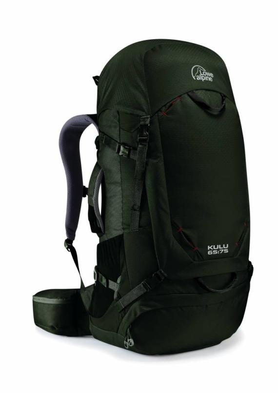 Lowe Alpine Kulu 65:75l backpack Magnetite