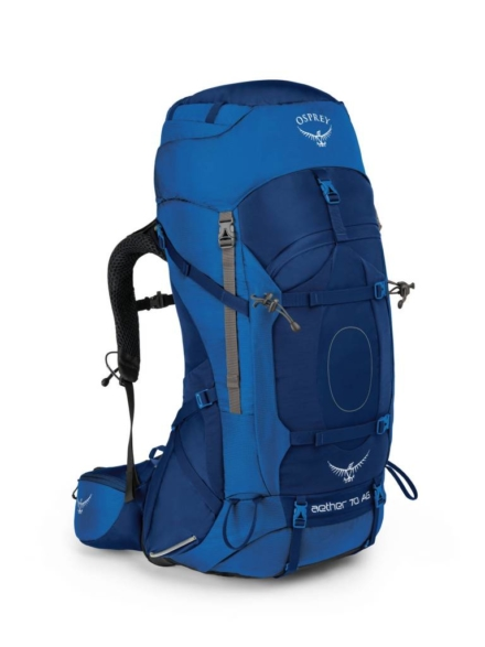 Osprey Aether AG 70l backpack heren Neptune Blue
