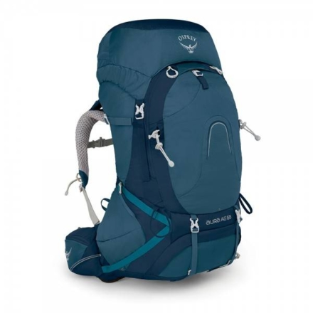 Osprey Aura AG 65l backpack dames Challenger Blue