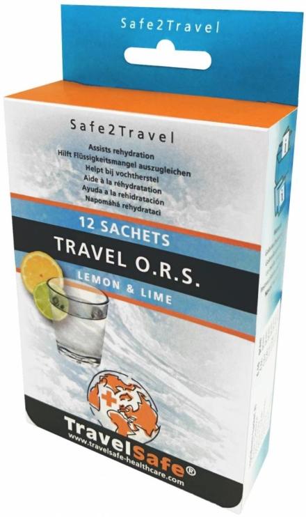 Travelsafe Travel O.R.S met stevia 12 ors zakjes