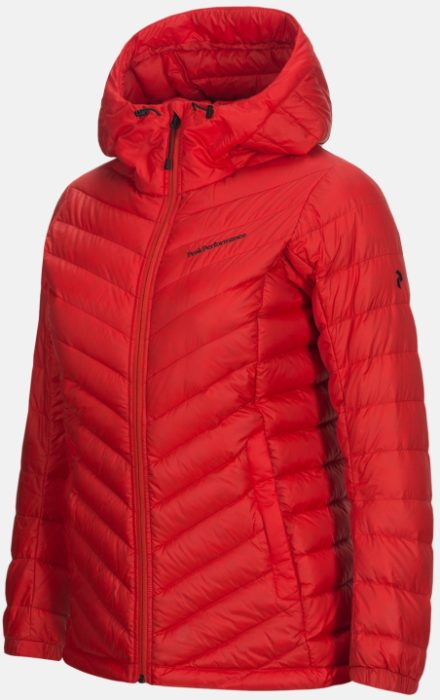 Peak performance Peak Performance dames's Pertex Frost Down Hooded Ski jas (Overige kleuren)
