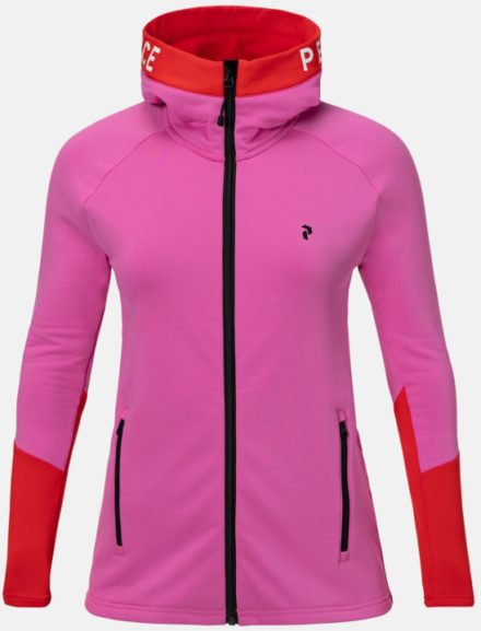 Peak performance Peak Performance dames's Stretch Rider Zip-Up Hoodie (Overige kleuren)