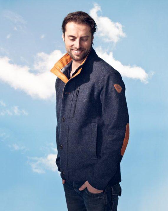 Carl denig Sherpa Tweed jacket (Overige kleuren)