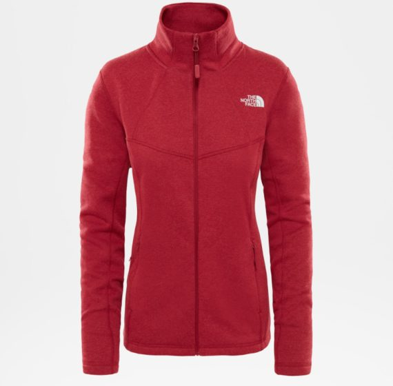 The north face The North Face dames's Inlux Wool Fleece Ski jas (Overige kleuren)