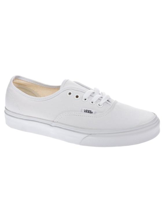 Vans Authentic Sneakers wit