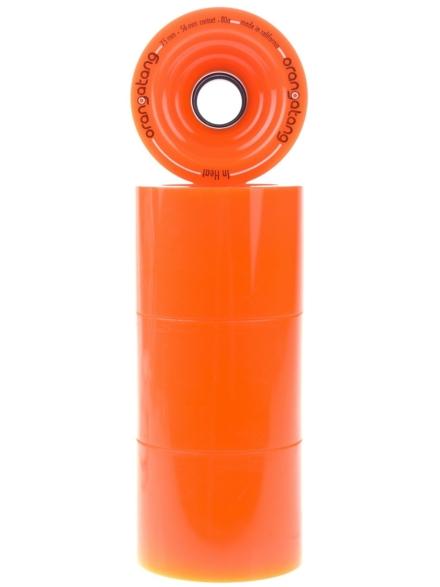 Orangatang InHeats 75mm 80a Wheels oranje