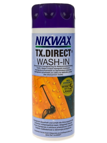 Nikwax TX Direct Wash In 300ml patroon