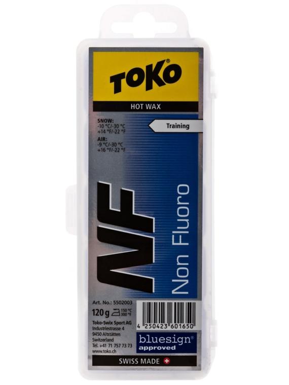 Toko NF Hot Wax blue 120g blauw