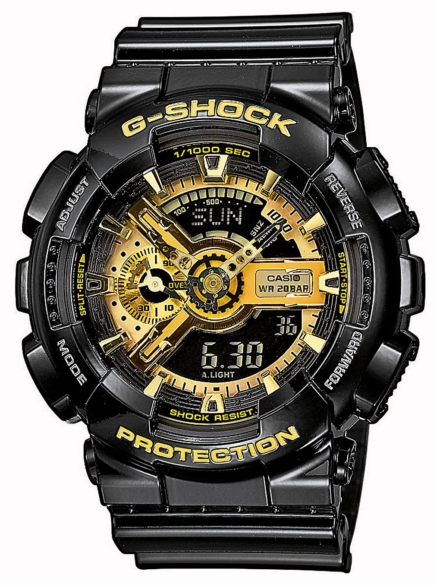 G-SHOCK GA-110GB-1AER zwart