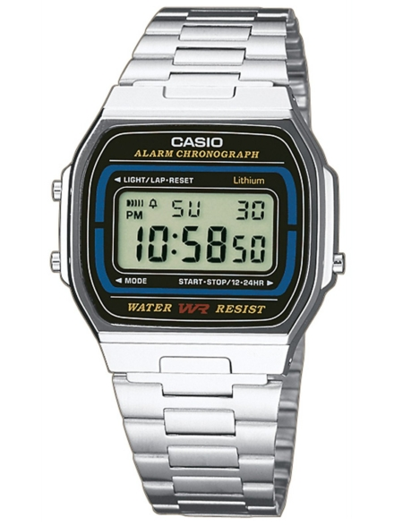 Casio A164WA-1VES patroon