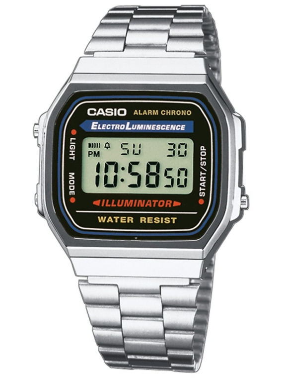 Casio A168WA-1YES patroon