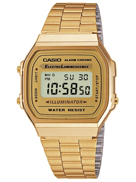 Casio A168WG-9EF patroon
