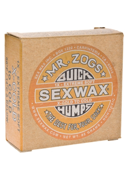 Sex Wax Quick Humps yellow Extreme Soft geel