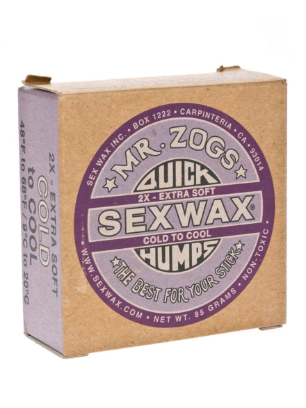 Sex Wax Quick Humps purple Extra Soft paars