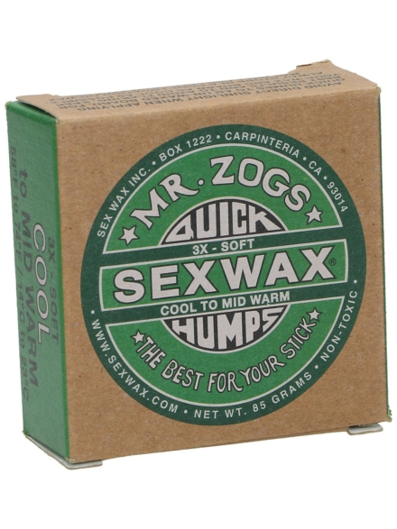 Sex Wax Quick Humps green Soft groen