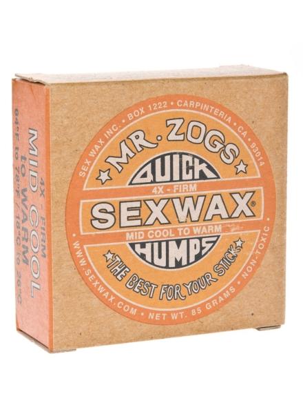 Sex Wax Quick Humps orange Firm oranje