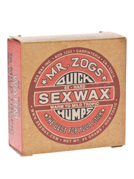Sex Wax Quick Humps red Hard rood