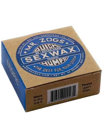 Sex Wax Quick Humps blue Extra Hard blauw